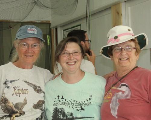 Betsy, Kelly and Ruth.  Photo by Kathy Habgood