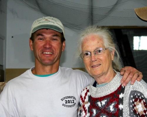 Rodney and Betsy.  Photo by Kathy Habgood