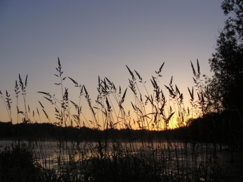 Sunrise at HANA.  Photo by Samantha Gonzalez