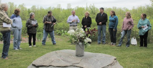 Friends and Family Remember 'Reg' Britton Photo by Kathy Habgood